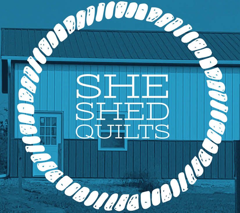She Shed Quilts - Logo